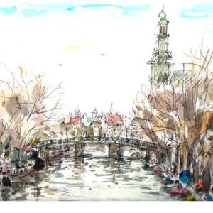 聖書のスケッチ旅 アムステルダム