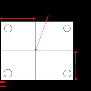 モールドベースやワークの基準は端面?中心?どこにしたほうが良い?
