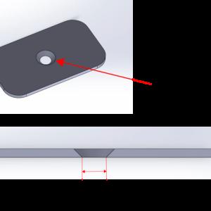皿ビス形状の穴のある製品の穴径が出ない!?そんなときの金型設計の解決策