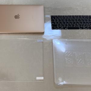 MacBook Airのカバーがキレイで快適。これで安心、いつでも気軽にさわれる♪