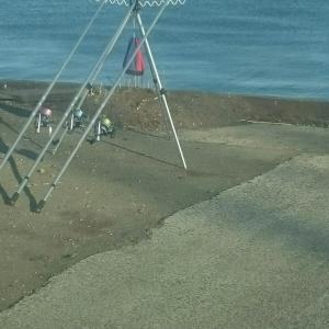 5月12日・・苫小牧西港 投げ釣り