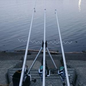 石狩樽川埠頭~シャコ釣り~