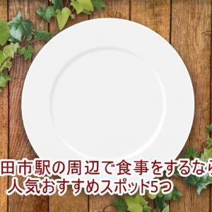 豊田市駅の周辺で食事をするなら!人気おすすめスポット5つ
