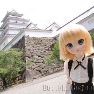 鶴ヶ城の石垣に隠されたハート型の石