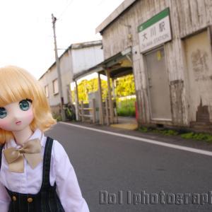 休日は18時台に終電車が発車する駅、鶴見線 大川駅