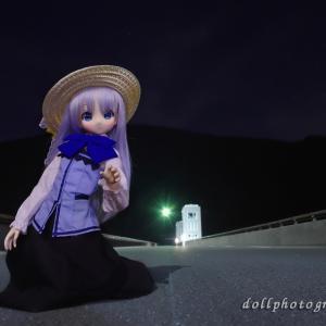夜の小河内ダム