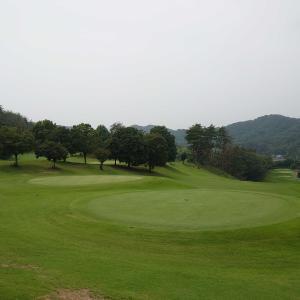 今年ゴルフ12回目