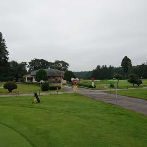 今年ゴルフ17回目    ベストスコア更新