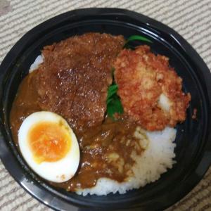 🐻ダブルカツカレー丼【日糧パン】【ドンキホーテ】