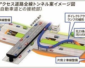 🐻札幌都心アクセス道路地下案が浮上❕【北海道のバス事情(6)】