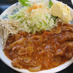 🐻牛肉の🍅トマト煮定食🍴(A定食) 小樽市立病院7階食堂【美味しんぼ】