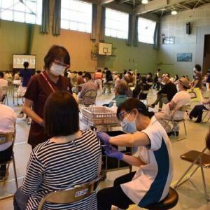 🐻ワクチン接種の余市モデル12歳~49歳のメールで受付開始❕道内職場・大学接種はばらつきも❕&小樽の感染状況❕