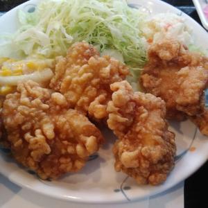 🐻メガザンギ定食🍴(A定食・4) 【小樽市立病院7階食堂・美味しんぼ】
