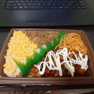 ▽巣ごもり生活かな((+_+)) テイクアウト弁当