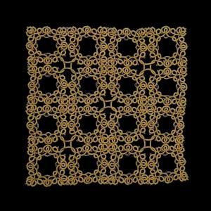 立体交差の魔方陣 4×4サイズ完成