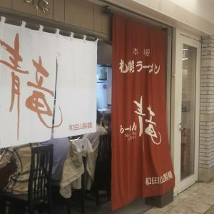 味噌ラーメン嫌いの人間が札幌駅地下街にある『青竜』に食べに行って来ました。感想は概ね予想通り?