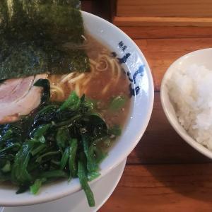 立川駅近くの家系ラーメン『麺屋 はやぶさ』はワイルドさが強めのラーメンである。特製のブレンド茶がラーメンに合うのよね。