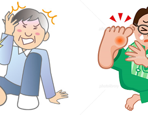■ウィズ コロナ+「痛風」/「痛風」再発