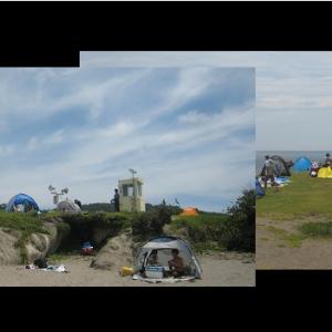 ■コロナ禍の夏本番Ⅱ ソーシャルディスタンスの一色海岸