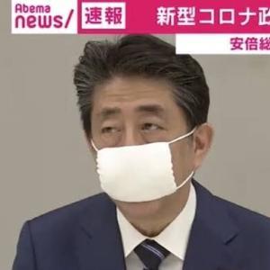 【!!?】安倍総理、各世帯に布マスク2枚配布へ