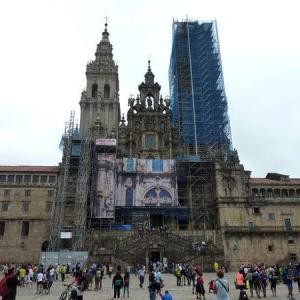【スペイン巡礼37日目②】サンティアゴのミサ&巡礼手続き