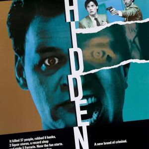 『ヒドゥン』(1987) これは隠れ同性愛映画では?
