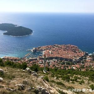 【旅行記】スルジ山&プラザビーチ|クロアチア4日目