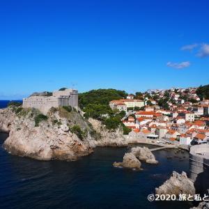 【旅行記】ドブロブニク城壁散策&バニェビーチ|クロアチア6日目