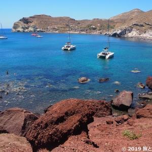 【旅行記】ギリシャ周遊サントリーニのビーチ巡り編 夫婦2人旅10日目