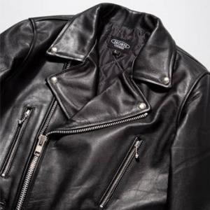 ライダースジャケットは英国スタイルの細身のUK本革が人気です!