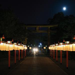 名月祭!  ~平野神社~