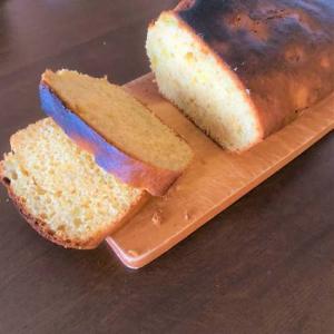 休日のパウンドケーキ・うさぎ