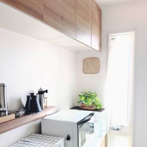 【キッチン】植物棚をDIY♪