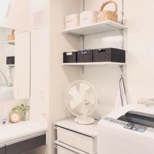 【ニトリ×無印良品】洗面所の収納