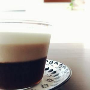【オシャレで簡単♪】3層コーヒーゼリー