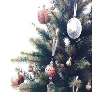 クリスマスツリー、飾りました♪