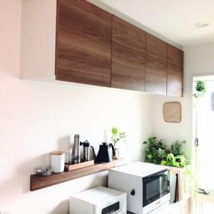 【キッチン】吊り戸棚のすっきり収納
