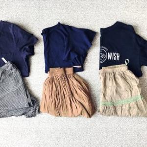 夏の普段着は3パターン