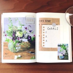 心ときめく7月の手帳と、購入文房具