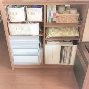 キッチンカウンター下収納の悩み