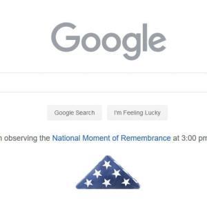 今日のアメリカ版のGoogle先生
