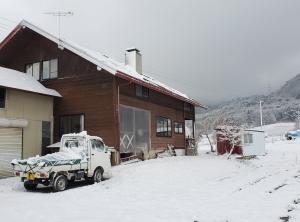 吹雪でも山に行くアホバカ猟師