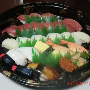 今日の晩ごはんはにぎり寿司で一杯📷街角ぶらり旅11-13