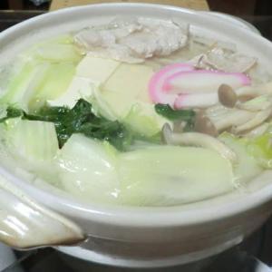 今日の晩ごはんは豚の水炊きをメインに一杯📷街角ぶらり旅11-28