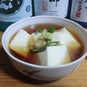 おすすめの酒の肴『和風あんかけ豆腐』 📷家飲み07-13