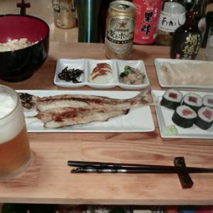「水戸黄門」を観ながら、奥さん手作り料理で一杯!📷ぶらり旅【おうち居酒屋】09-28