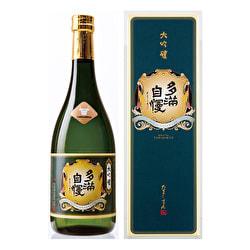 【東京都】石川酒造株式会社の地酒『清酒 多満自慢 大吟醸』📷ぶらり旅いい酒2021-6-9