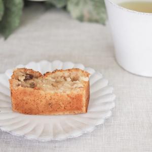 ちょっと失敗!白崎茶会のレシピで米粉のパウンドケーキ