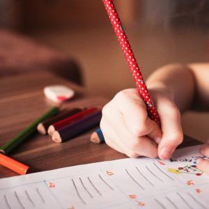 【3歳】くもん狂騒曲|算数4Aのテストを受けました