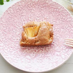 娘(2歳)と一緒におやつ作り|ゴロゴロパイナップルケーキ
